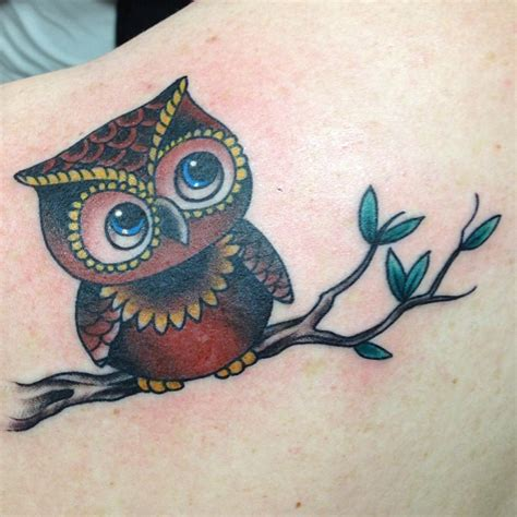 tattoo pictures of owls 35 sweet baby owl tattoos golfian com