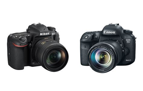 canon or nikon nikon d500 vs canon 7d ii specs comparison