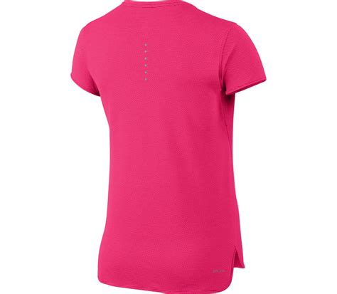 Nike The Top Running Pink nike aeroreact shortsleeve s running top pink