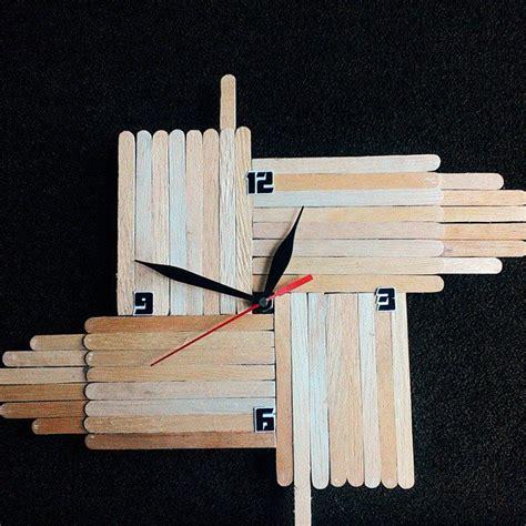 cara membuat lu hias sederhana dari stik es krim gambar desain rumah dengan dinding kayu contoh z