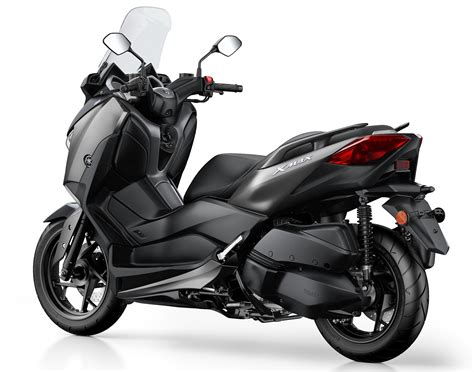 Sandaran Backrest Yamaha Xmax 2017 yamaha x max 300 scooter launched in europe image 565712