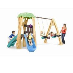 Tikes Tree House Swing Set by Tikes Toys R Us And Toys On