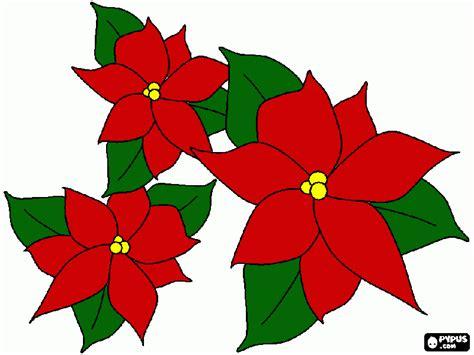 image gallery nochebuenas para imprimir disegni da stelle di natal stelle di natal da stare