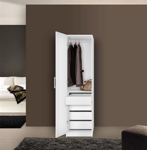 Wardrobe Space Savers by Alta Space Saver Narrow Wardrobe Left Door 4
