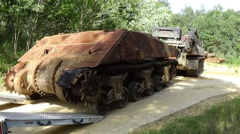 For sale US Tanks: 1944 Sherman M4 for restoration and ... Ww2 Sherman Tanks For Sale