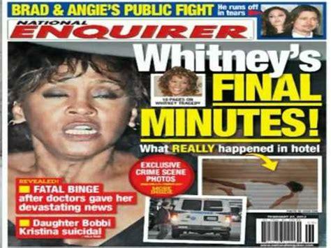 upclose national enquirer whitney houston photo in whitney houston y fotos de national enquirer youtube