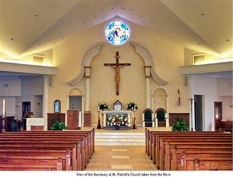 interior layout of a church st patrick s rc church of smithtown church tour