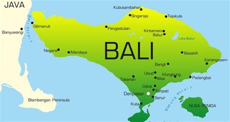 Motorradverleih Sydney by Bali Landkarte Browse Info On Bali Landkarte Citiviu