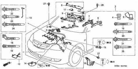 honda civic 2005 engine diagram automotive parts diagram