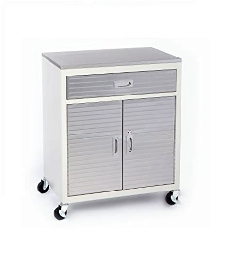 Ultra Hd Mega Storage Cabinet One Drawer Cabinet Stainless Steel Top Seville Classics Ultra Hd By Seville Classics