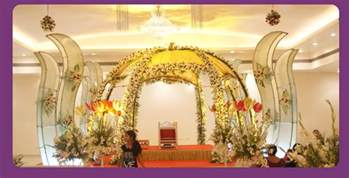 Shaadi Decorations A Wedding Planner Indian Wedding Hall Shaadi Mandap Decorations