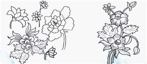 desain gambar tumbuhan contoh motif batik flora dan fauna