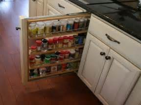 bloombety cabinet pull out spice rack hardwood flooring