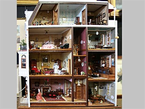 doll auction house a rare english doll s house special two day antique auction day 1 e j