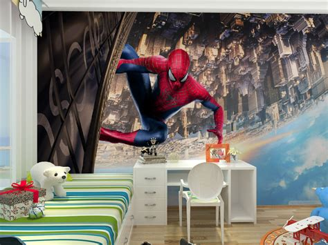 kids spiderman bedroom popular spiderman bedroom wallpaper buy cheap spiderman