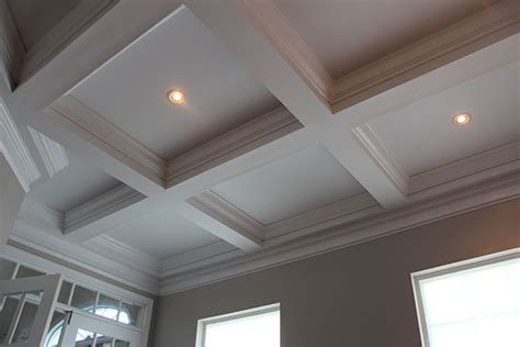 Coffered Ceiling Lighting Our Home From Scratch