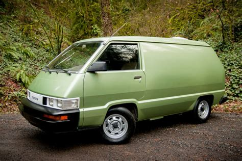 Toyota Vans Clean Green 5 Speed 1986 Toyota Cargo Bring A Trailer