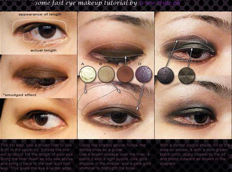 tutorial makeup for small eyes romantic eye makeup tutorials for girls