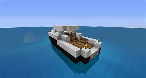 how to make a house boat in minecraft fishing boat minecraft project