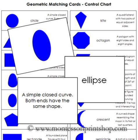 printable montessori geometric shapes geometric matching cards printable montessori geometry