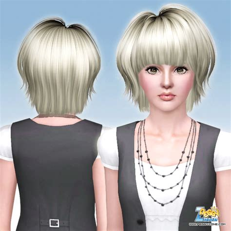 haircuts zone very short bob haircut id 625 by peggy zone sims 3 hairs
