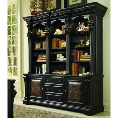 hooker furniture computer armoire hooker furniture telluride bookcase with bottom storage