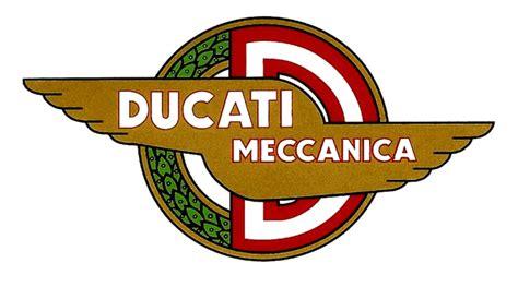 Ducati Sticker Logo by Ducati Meccanica Sticker