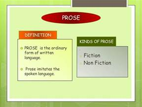 Prose Essay Definition by Introduction To Literature Poetry Drama Prose