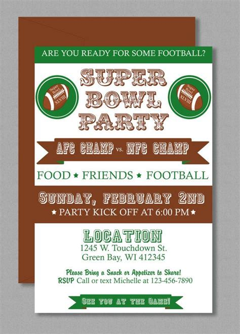 bowl invitation template vintage bowl invitation editable template