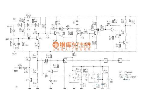 probe circuit diagram multi purpose ultrasonic probe circuit diagram