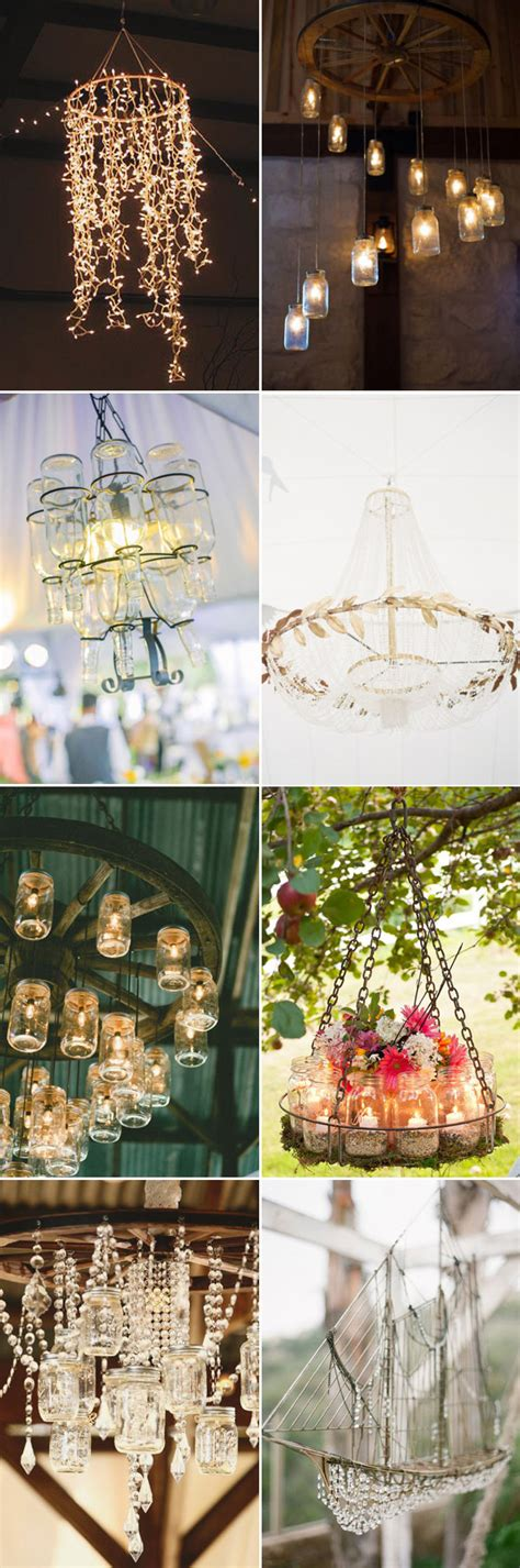 Diy Wedding Decoration Ideas by Wedding Decorations 40 Ideas To Use Chandeliers
