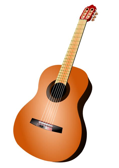 printable guitar images free to use public domain acoustic guitar clip art