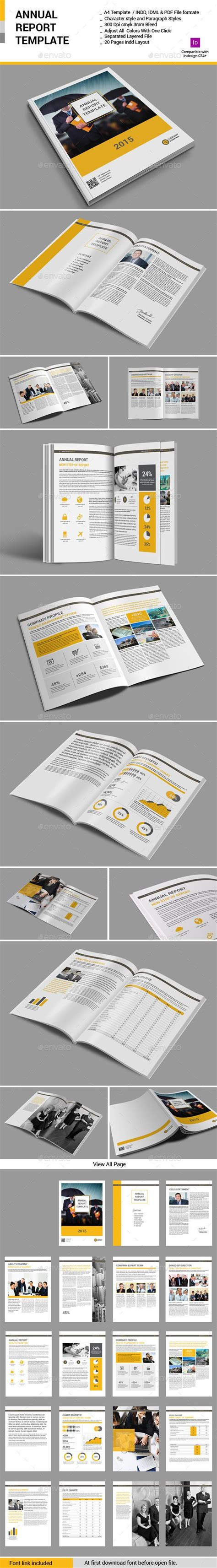 layout koran indesign annual report template brochures annual reports and