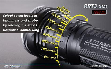 Jetbeam Th20 Tactical Flashlight Senter Led Cree Xhp70 2 3450 Lumens jetbeam raptor rrt 3 flashlight cree xm l t6 led 1950 lumens uses 3 x 18650