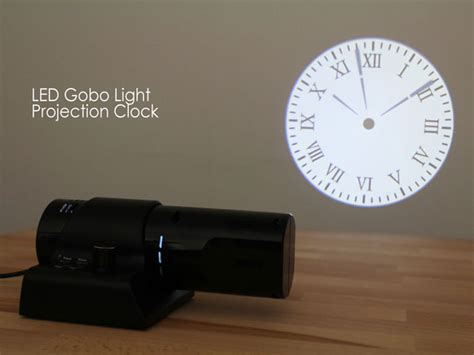 LED Gobo Light Projection Clock