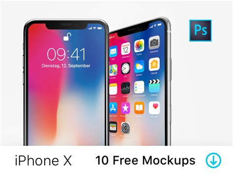 iphone layout mockup iphone x 10 free psd mockups by fintory dribbble