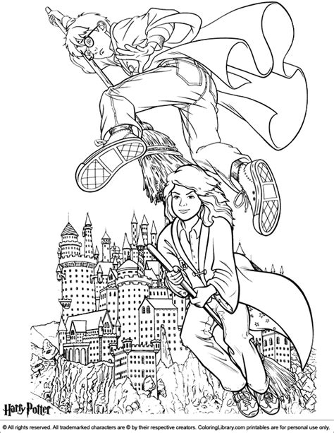 harry potter broom coloring page harry potter coloring pages coloring pages
