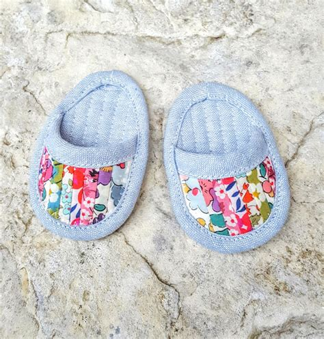 Patchwork Dolls - fabric mutt patchwork doll slippers