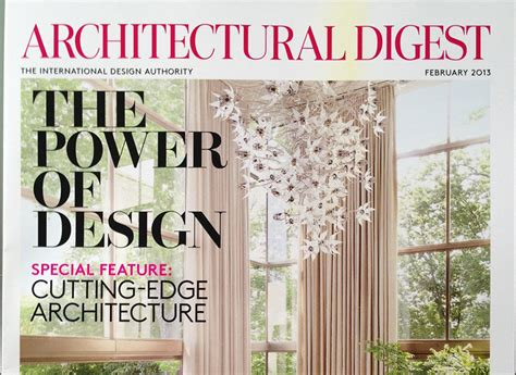 architecture and design magazine top 5 usa interior design magazines miami design district