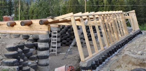 the rise of tire homes and earthships build abroad