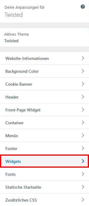 wordpress sections themes wordpress customazation api section in section
