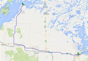 directions from usa ontario wilderness houseboat rental ltd