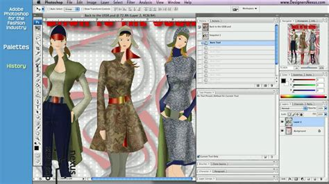 design clothes with photoshop photoshop tutorial for fashion design 22 24 history