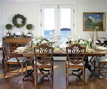 elegant holiday table settings  homes gardens