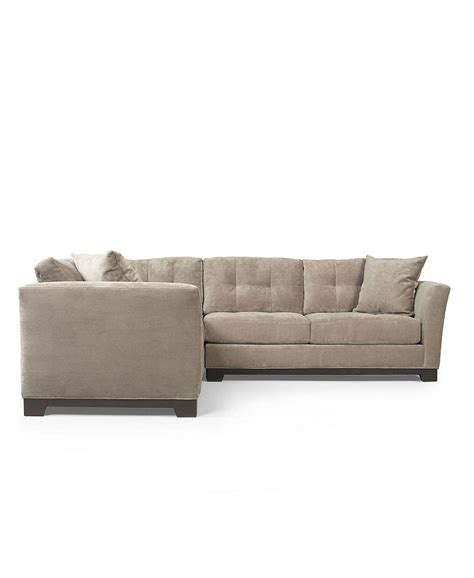 elliot fabric microfiber sectional sofa elliot fabric microfiber 2 piece sectional sofa