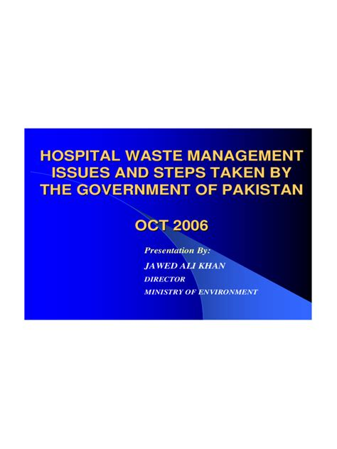 waste management powerpoint template waste management ppt 4 free templates in pdf word