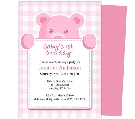 mac birthday card templates 1000 images about printable 1st birthday