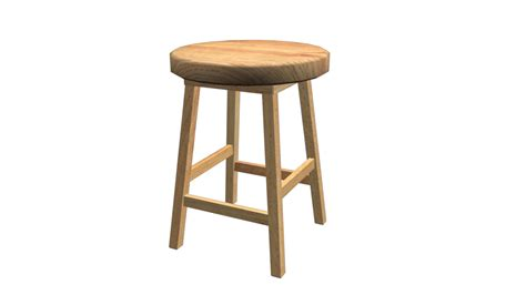 Stool Is by Stool By Fiveaxiomsinc 3docean