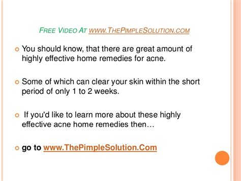 Effective Home Remedies For Acne by 5 Highly Effective Home Remedies For Acne