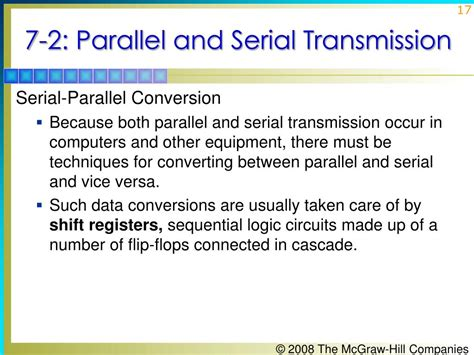 parallel and serial ppt principles of electronic communication systems